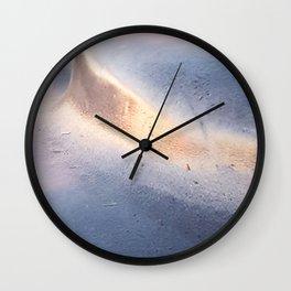 Abstract pastels Wall Clock