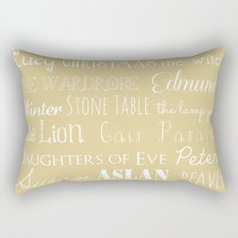 Narnia Celebration- oat Rectangular Pillow