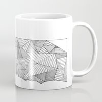 oklahoma Mugs featuring Oklahoma Network by JacobCossey