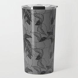 Croton in Grey Travel Mug