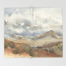 Old Stagecoach route to Nutt Throw Blanket