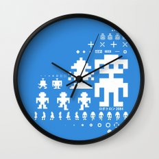 Robotron Wall Clock