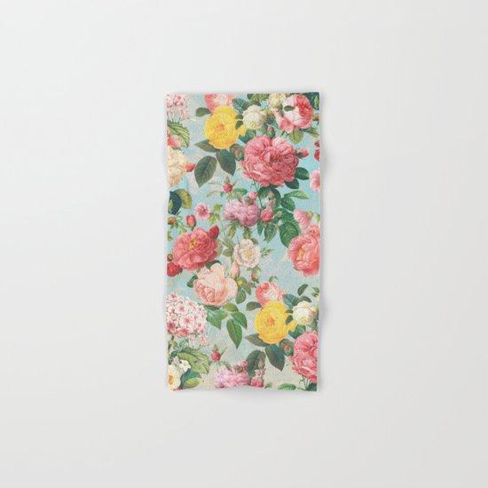 Floral B Hand & Bath Towel