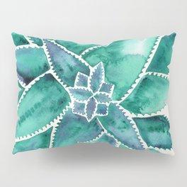 Aloe Vera – Turquoise Palette Pillow Sham