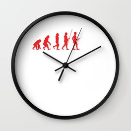 Music Lovers Drumming Musicians Drums Rock Bands Gift Evolution Drummer Wall Clock
