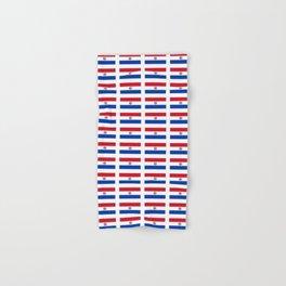 flag of paraguay 2 -paraguyan,asuncion,spanish, south america, latin america,pan flute,coffee,forest Hand & Bath Towel