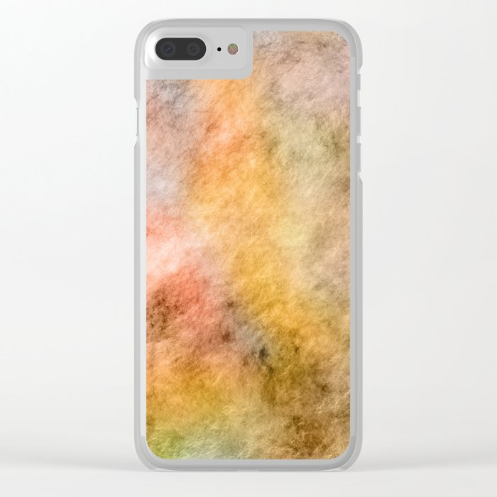 Dreamy Steamy Clear iPhone Case