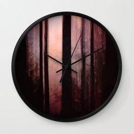 Pink dawn Wall Clock