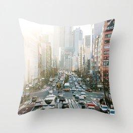 Tokyo 25 Throw Pillow