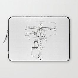 Flight attendant Laptop Sleeve