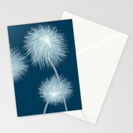 Stylized dandelions Stationery Cards