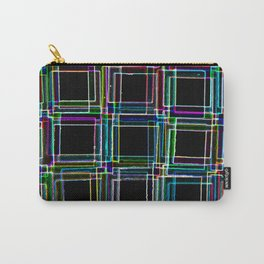 Neon Staircase Carry-All Pouch
