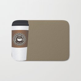 Obsessive Coffee Disorder Bath Mat