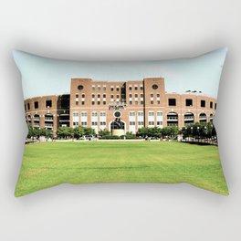Vintage Doak Campbell Stadium Rectangular Pillow