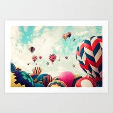 Monringrise Art Print