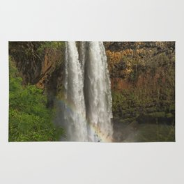 Wailua Falls - Kauai - Hawaii Rug