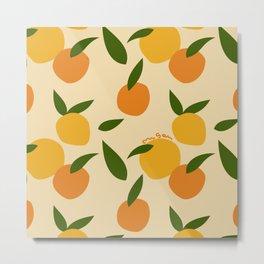 Mangoes in autumn Metal Print