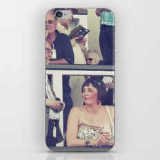 at the races... iPhone & iPod Skin