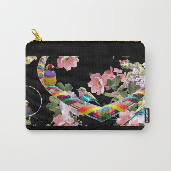 Hoop Love Carry-All Pouch