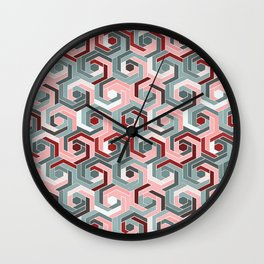 Back in the 60s peach Wall Clock
