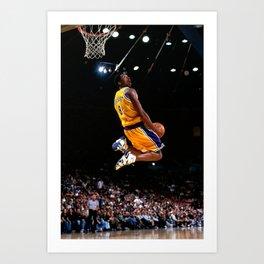K.B King of  Basketball Art Print06 Art Print