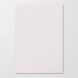 White texture Canvas Print