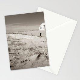 Winter, Galpin Church, Montana 2 Stationery Cards