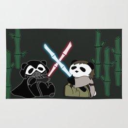 Panda Wars Rug