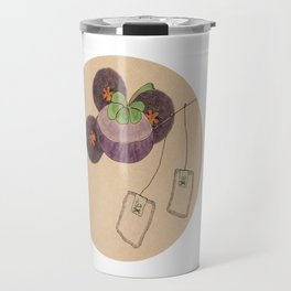 mangosteen & teabags Travel Mug