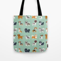 NORDIC DOGS Tote Bag
