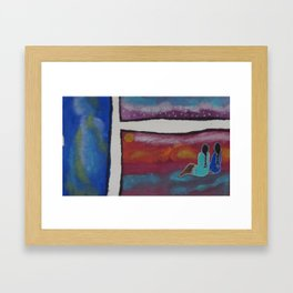 kisik 3 Framed Art Print