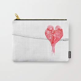 Red Heart Birds Love Carry-All Pouch