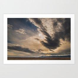 Big Sky, I miss you. Art Print