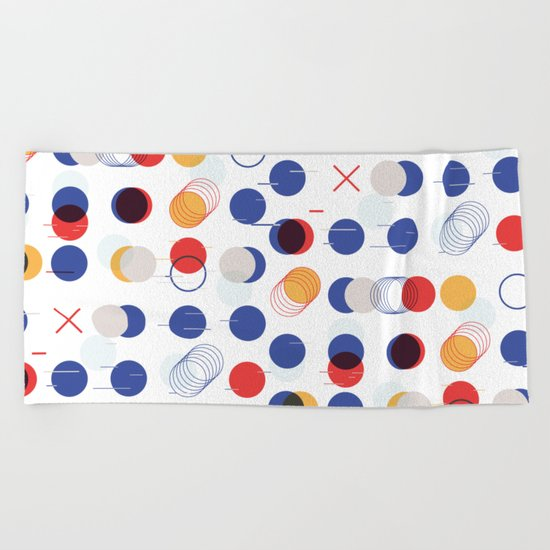 Fast Moving Parts Beach Towel