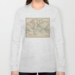 Vintage Map of The World (1911) Long Sleeve T-shirt