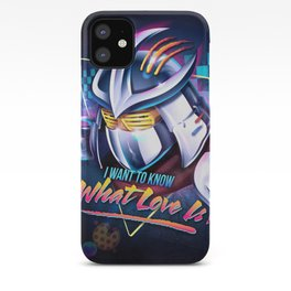 I Want to Know What Love Is iPhone Case
