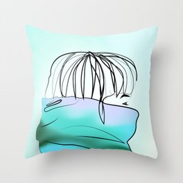 Wind Chill Throw Pillow