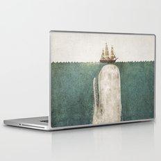 The Whale - vintage option Laptop & iPad Skin
