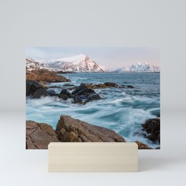 Winter Sea - Norway Mini Art Print