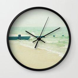 Sea Groyne Wall Clock