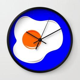 Fried egg Wall Clock