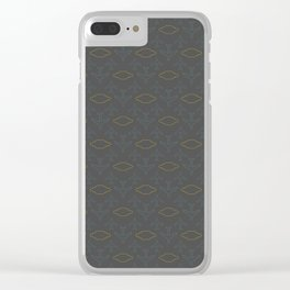 Plane Travel Wishes Clear iPhone Case