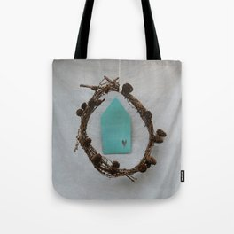 Crown of branches Tote Bag
