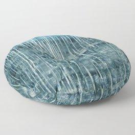 Water Element:  Precipitation Floor Pillow