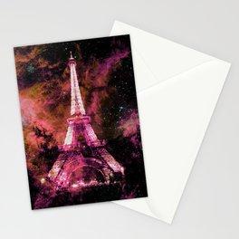 Paris Dreams Fuchsia Pink Peach Stationery Cards
