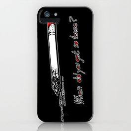 Twin Peaks - Donna's Tension iPhone Case