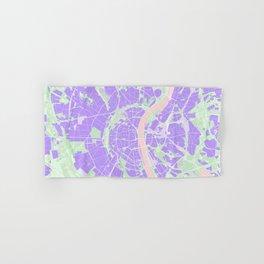 Cologne map violet Hand & Bath Towel