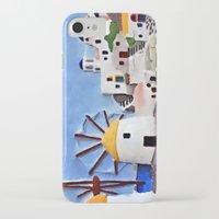 greek iPhone & iPod Cases featuring Greek island by Brian Raggatt