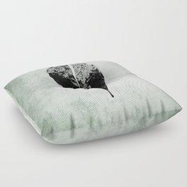 leaf skeleton Floor Pillow
