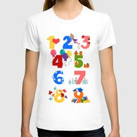 numbers T-shirts featuring numbers by Alapapaju